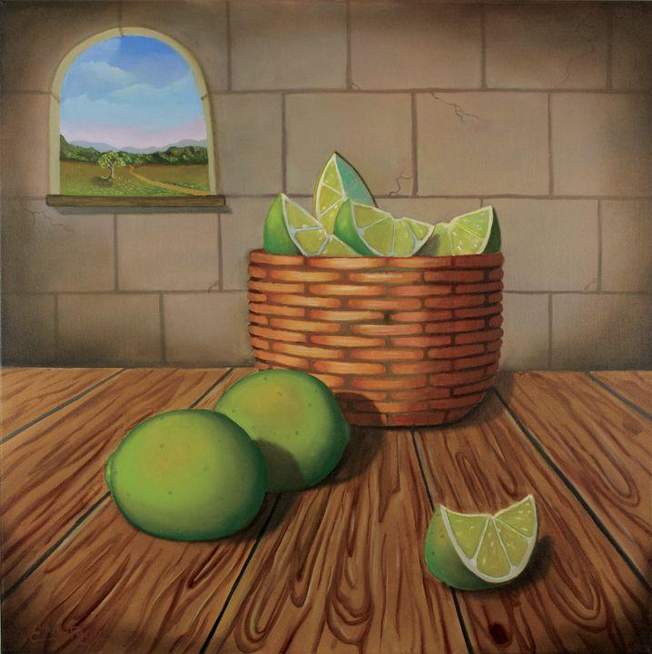 Lime Action - Erick Ortega Art
