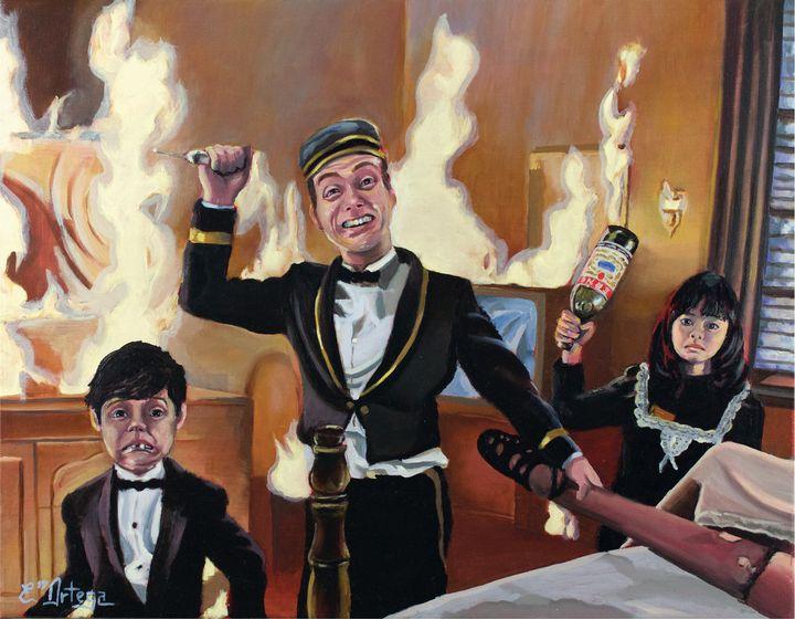 The Misbehavers - Erick Ortega Art