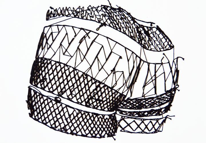 Thread and Paper #1 - Daniela San Juan