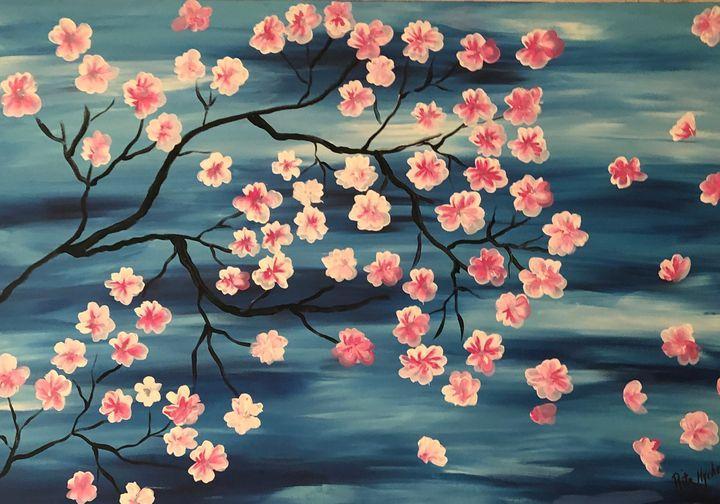 Apple blossom breeze - Rita Gallery
