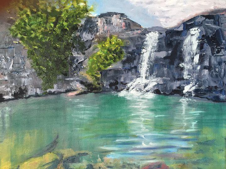 Waterfall - Elena Ott