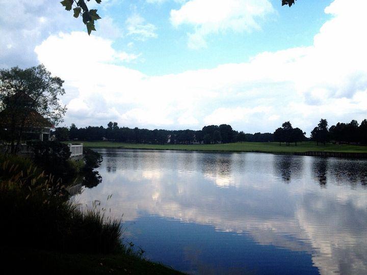 Reflective lake photograph - Jessica