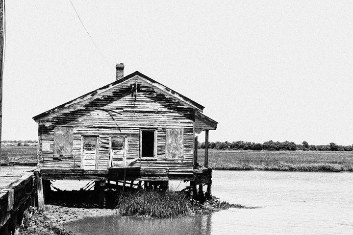 Old Navy Dock w/House - PhotogNinja
