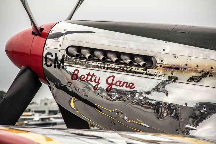 """P51 Mustang """"Betty Jane"""" - PhotogNinja"""