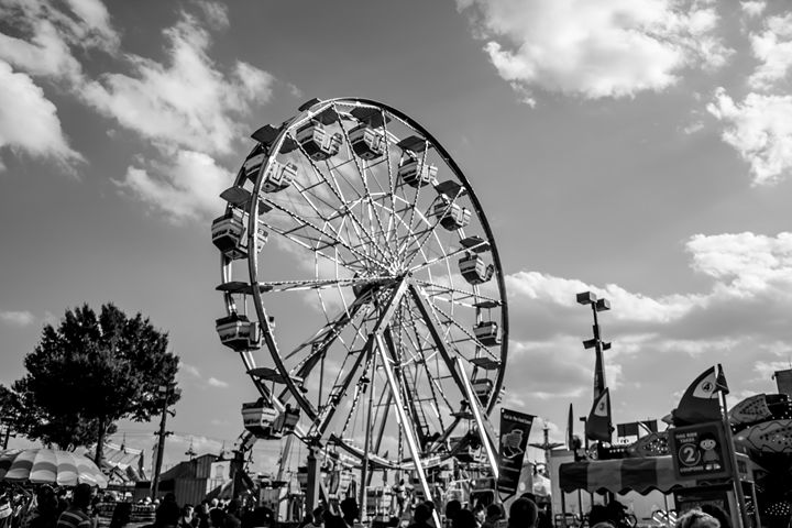 State Fair Ferris Wheel - PhotogNinja