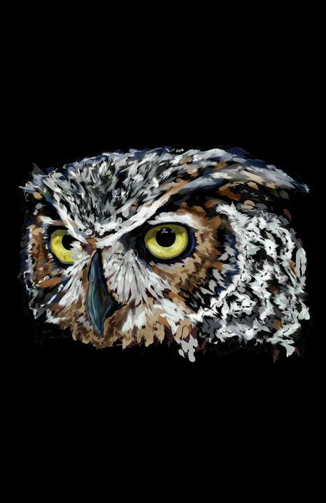 The Great Horned Owl - Jayden McLeod