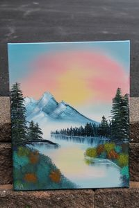 Mountains and Skies - ArtisticalTalents