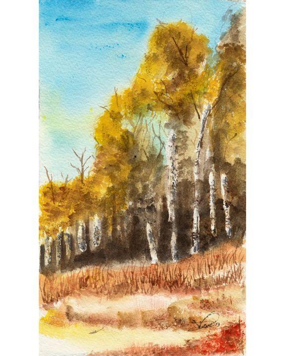Aspen Trees - Creative Lion Artistry
