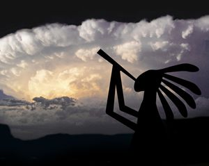 Kokopelli Brings Rain