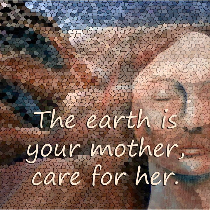 Care for Mother Earth - Charmaine Paulson Art