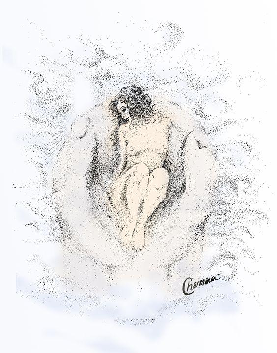 Loves Embrace - Charmaine Paulson Art