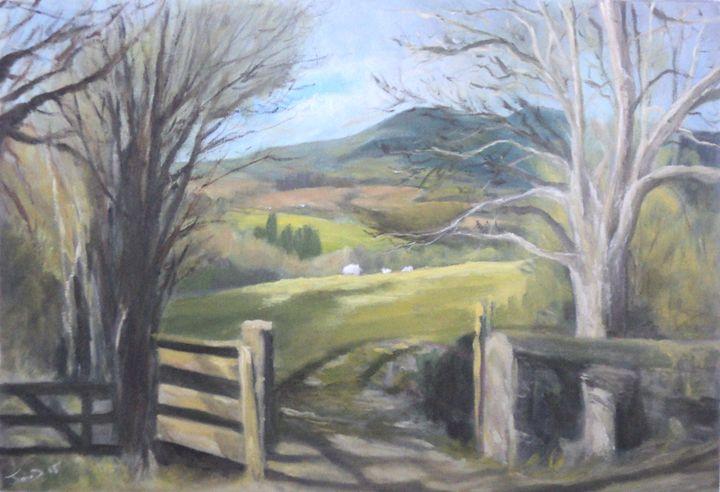Farm gate - JayMcD Artwork
