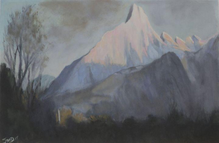Sun hit peak - JmcD Art