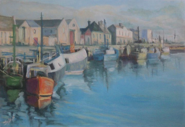 Harbor at Dusk - JayMcD Artwork