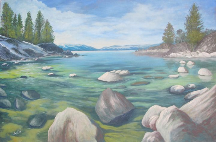 Wintery Cove - JmcD Art