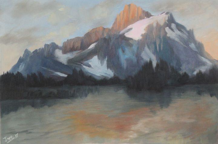 The Mountain majestic - JmcD Art
