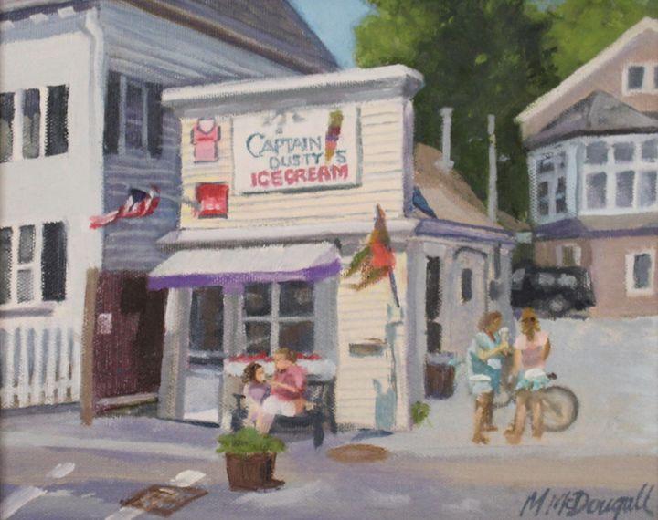Captain Dusty's Ice Cream - Michael McDougall