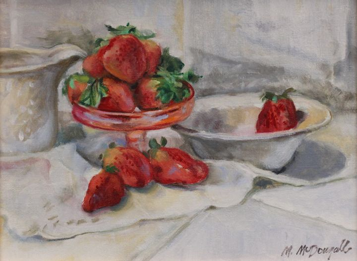 Strawberries and Cream - Michael McDougall