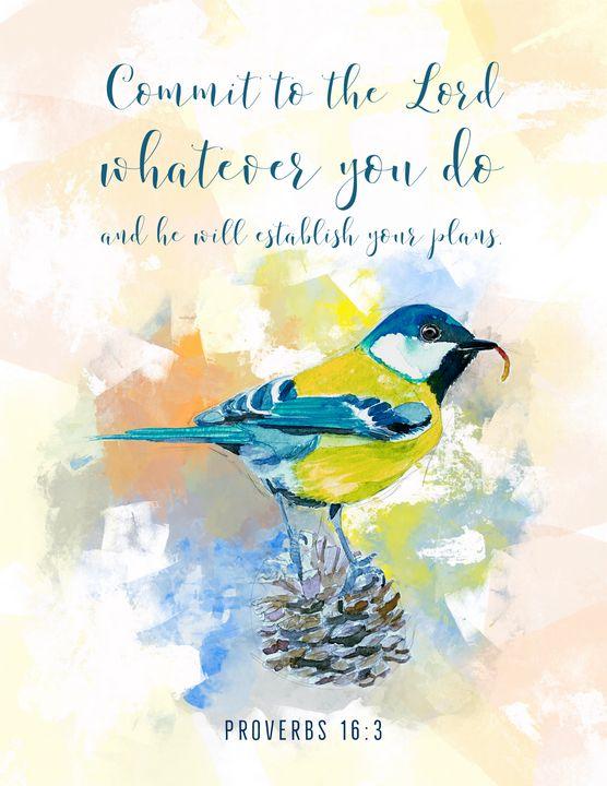 Proverbs Bird - Robb Rokk