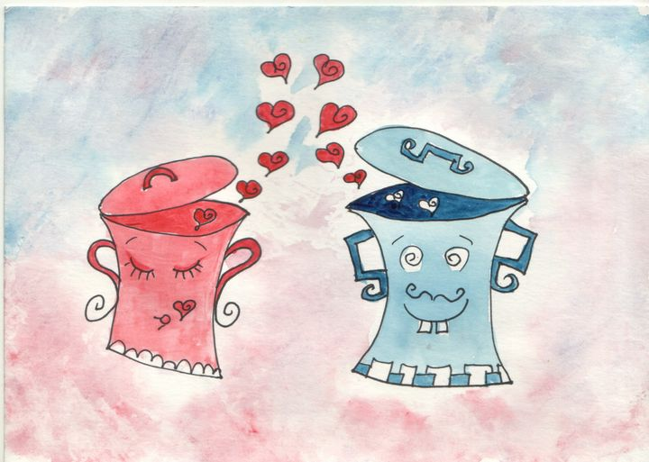 Pots in love - ArtGalerieVicente