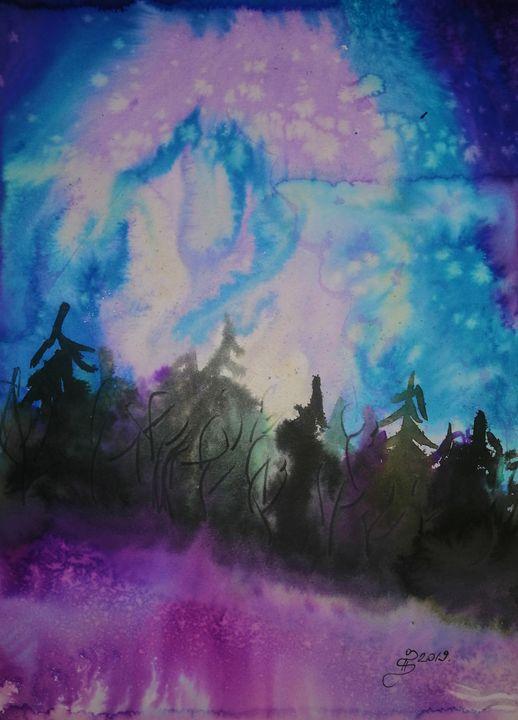 Aurora Borealis - ArtGalerieVicente