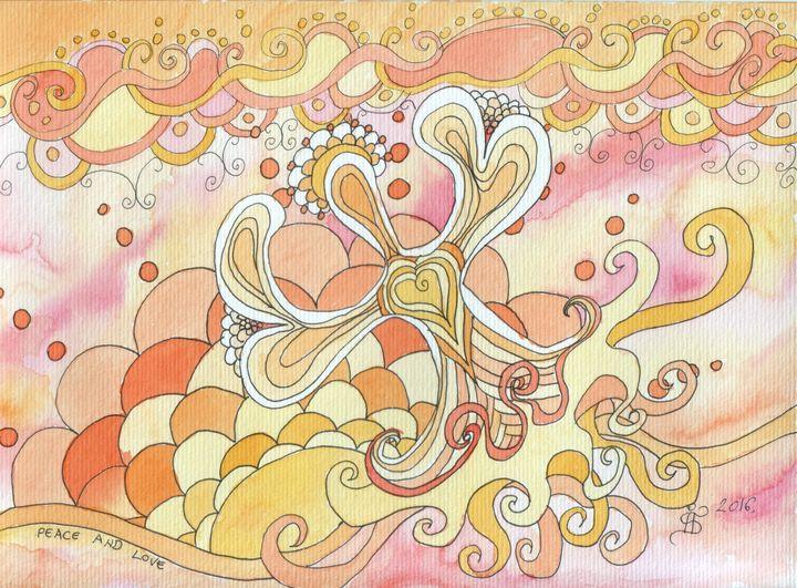 Peace and love - ArtGalerieVicente