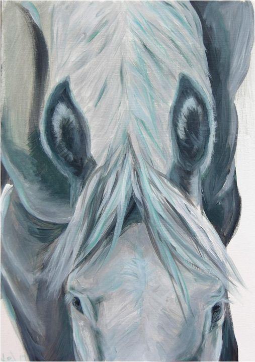 Blue - Art by Kelsey