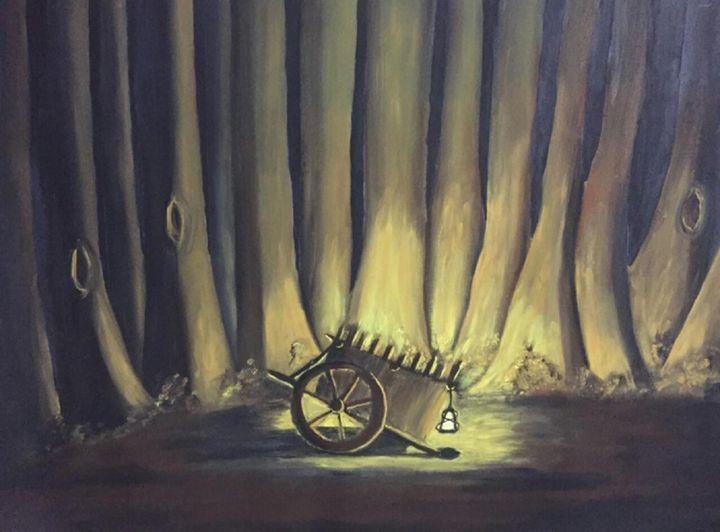 LANTERN IN THE WOODS -  Replytosuchi