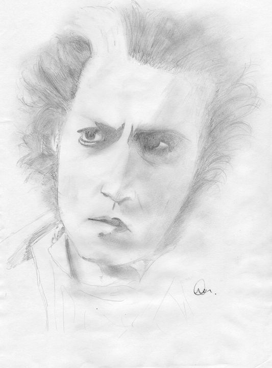 Sweeney Todd - Jitraj Singh Artwork