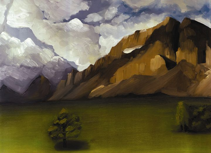 Mountain Breeze - Brianna Hanley Art