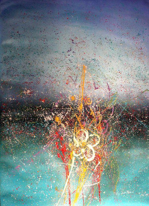 Paisaje floral impresionista -  Jefajardoaya