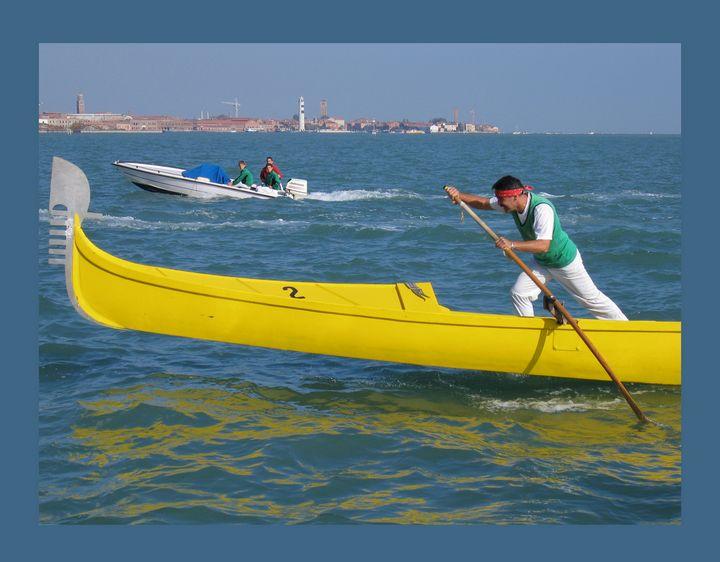 Venice canoe competitions. Nr 2. - Irina Oshley