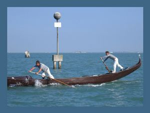 Venice canoe competitions. Nr.9.