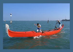 Venice canoe competitions. Nr.5.