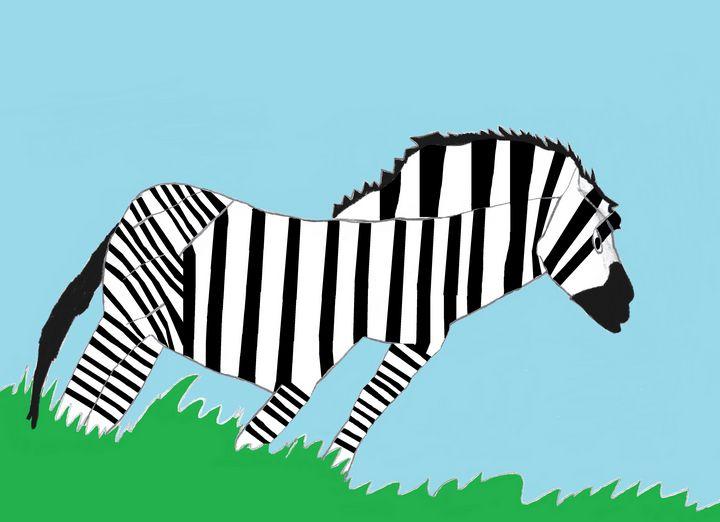 Zebra - Mehkhy Delaney
