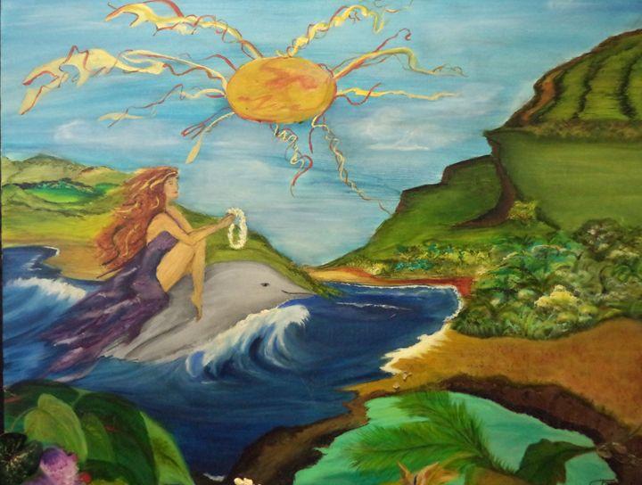BRINGING ALOHA IN MAUI - MAUI ISLAND SHELL
