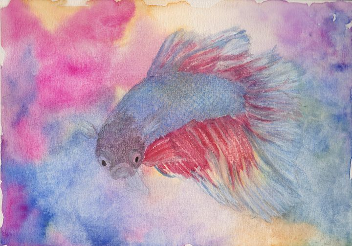 Fighting Fish - Linda Ursin