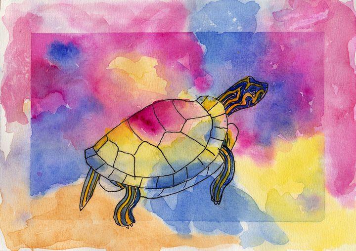 Painted Turtle - Linda Ursin