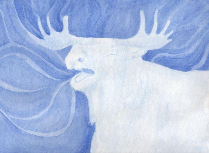 Moose Animal Spirit - Linda Ursin