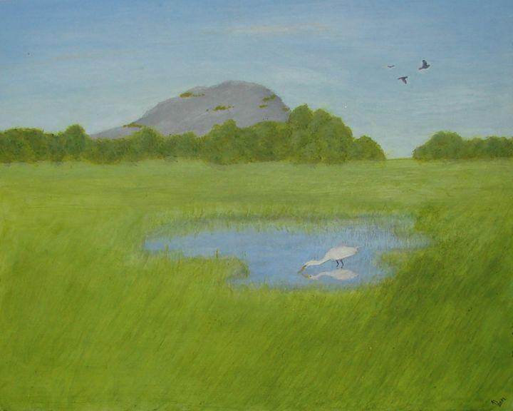 Egret - Linda Ursin