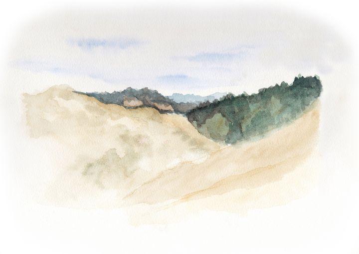 Valley Landscape Soknedal - Linda Ursin
