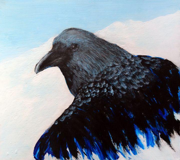 Raven Emerging - Linda Ursin