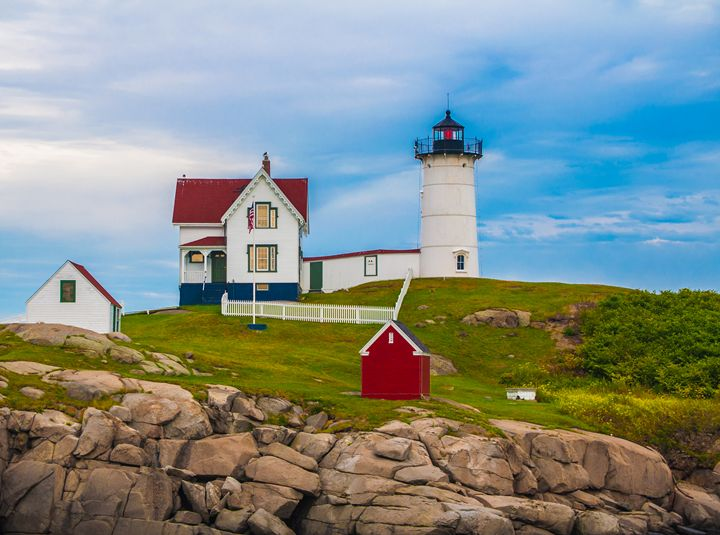 Nubble Lighthouse - Jus4fundesigns