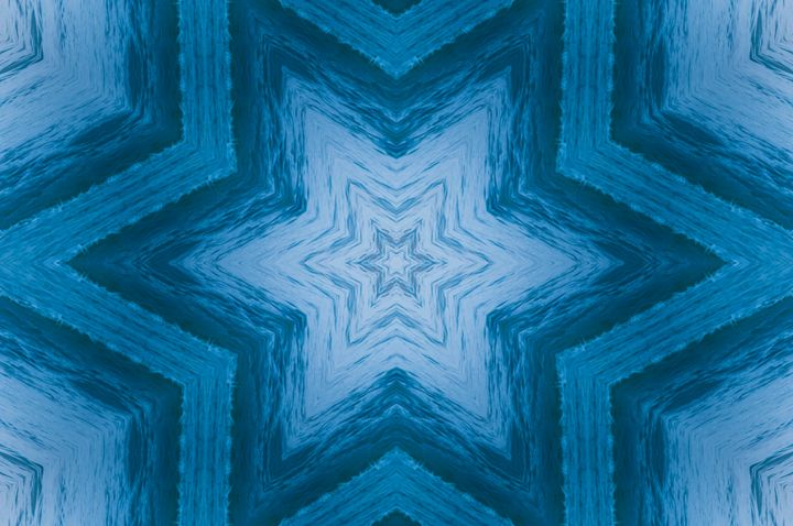 Blue Color Stars - Jus4fundesigns