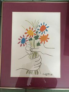 Vintage Picasso Lithograph - Vintage Art