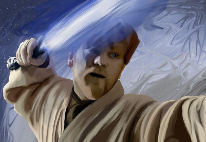 Obi Wan Kenobi - Art By Josette