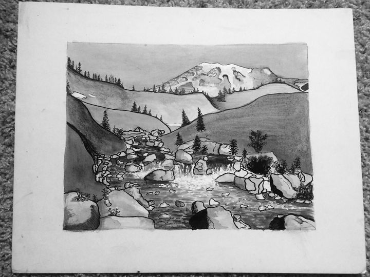 Mount Rainier's Valley - Gallery