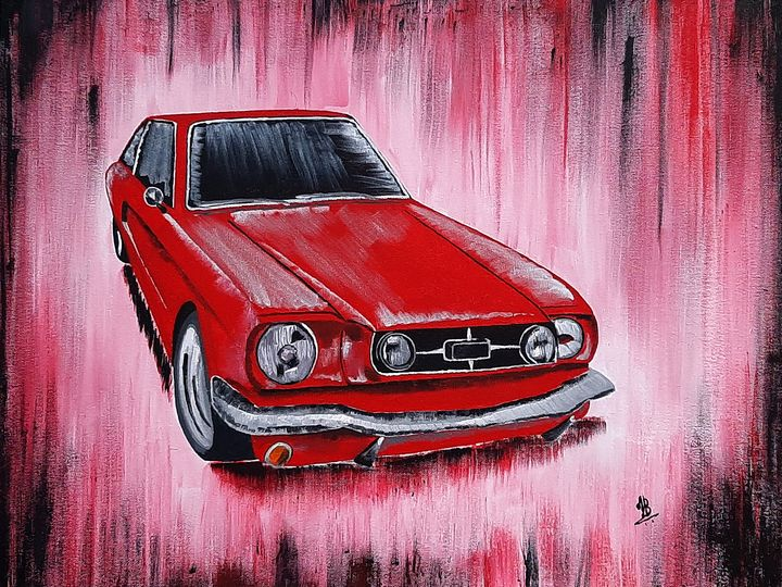 Red Mustang - Tejal Bhagat