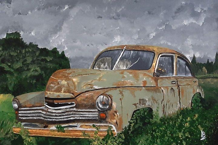 Vintage Rusted Car - Tejal Bhagat