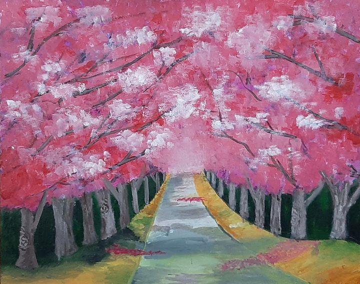 Cherry Blossom - Tejal Bhagat